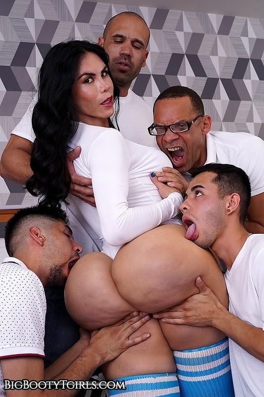 Abigail's Big Booty Gangbang (5 March 2020) – Blowjob, Anal, Bareback